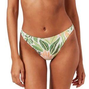 Solid&Striped Palm Leaf Print Bikini Bottom